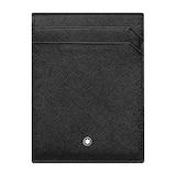 Montblanc Black Leather 4CC Holder