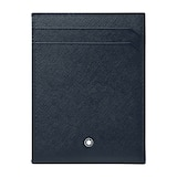 Montblanc Blue Leather 4CC Holder