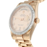 Pre-Owned Rolex Pre-Owned Rolex Day-Date Mens Watch 118395BR
