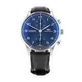 Pre-Owned IWC Portugieser Chronograph Mens Watch IW371491