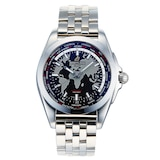 Pre-Owned Breitling Galactic Unitime Mens Watch