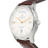 Pre-Owned Breitling Pre-Owned Breitling Premier Day-Date Mens Watch A45340211G1P1