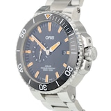 Pre-Owned Oris Pre-Owned Oris Aquis Small Second Mens Watch 01 743 7733 4159