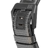 Pre-Owned Bell & Ross Pre-Owned Bell & Ross Carbon Fiber Phantom Mens Watch BR01-94-CA-FIBER/PH
