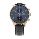 Pre-Owned IWC Pre-Owned IWC Portugieser Chronograph Mens Watch IW371482