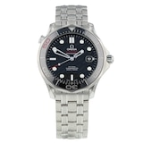 Pre-Owned Omega Seamaster 300m 'James Bond 50th Anniversary' Mens Watch 212.30.41.20.01.005