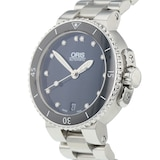 Pre-Owned Oris Pre-Owned Oris Aquis Date Ladies Watch 01 733 7652 4194