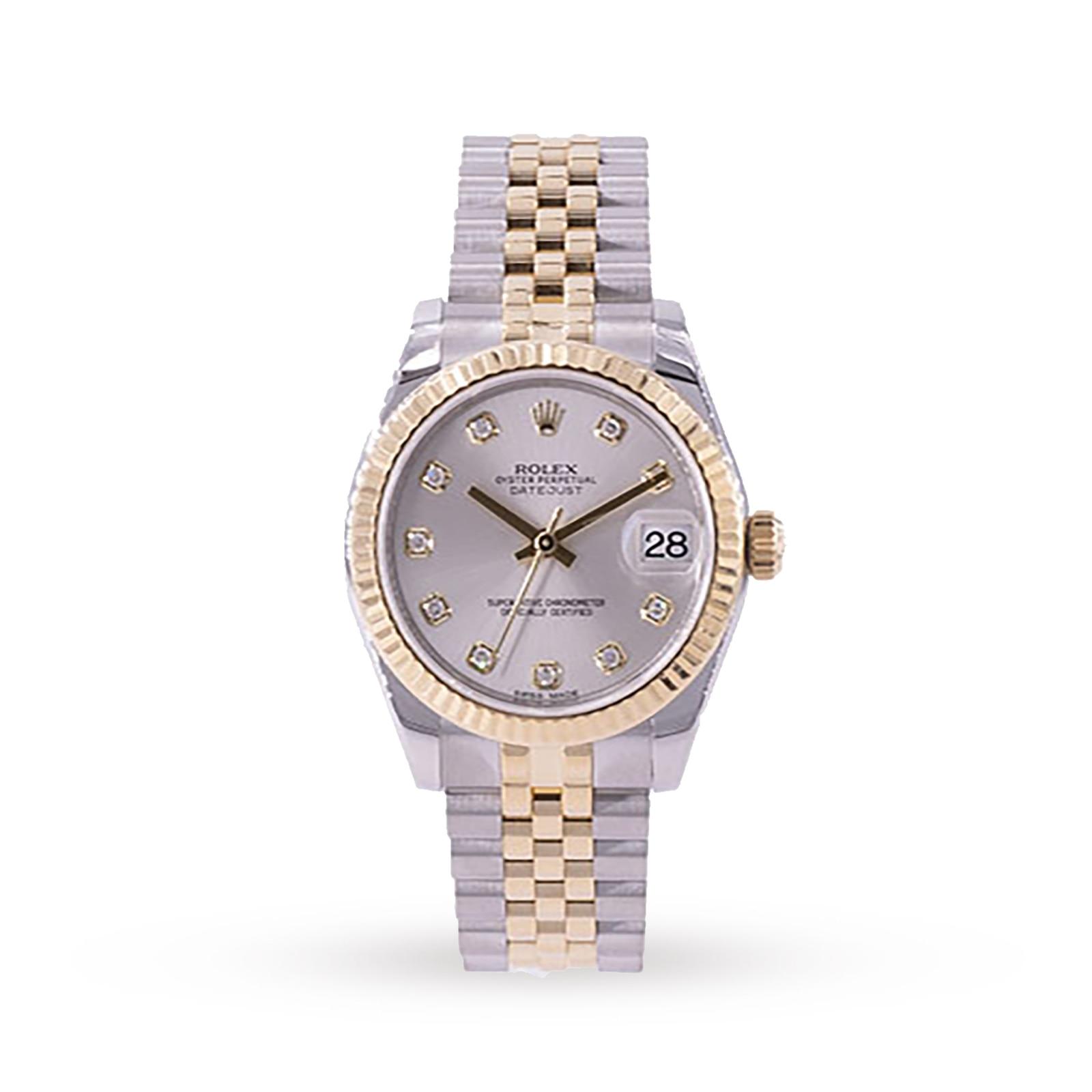 Rolex Pre-Owned Rolex Datejust Watch 178273