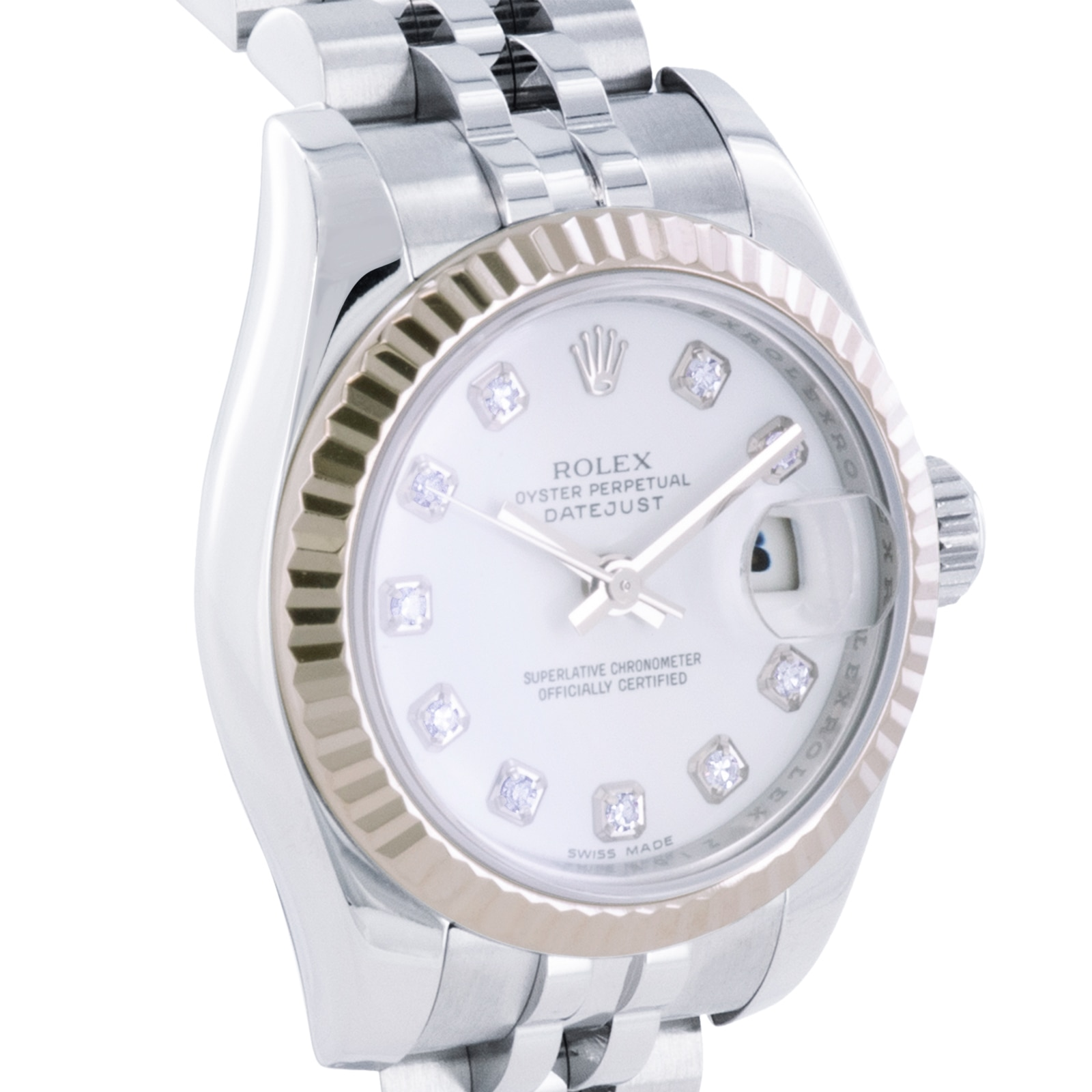 Rolex Pre-Owned Rolex Datejust Watch 179174