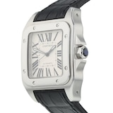 Pre-Owned Cartier Santos 100 Mens Watch W20073X8/2656