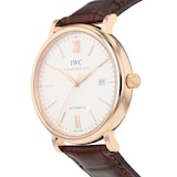 Pre-Owned IWC Pre-Owned IWC Portofino Automatic Mens Watch IW356504