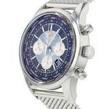 Pre-Owned Breitling Pre-Owned Breitling Transocean Unitime Mens Watch AB0510U4/BB6215