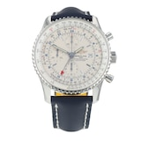 Pre-Owned Breitling Pre-Owned Breitling Navitimer World Mens Watch A2432212