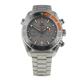 Pre-Owned Omega Pre-Owned Omega Seamaster Planet Ocean Titanium Mens Watch 215.90.46.51.99.001