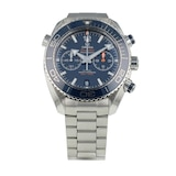 Pre-Owned Omega Pre-Owned Omega Seamaster Planet Ocean Chronograph Mens Watch 215.30.46.51.03.001