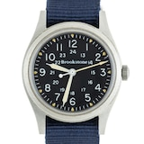 """Pre-Owned Hamilton by Analog Shift Pre-Owned Hamilton """"Brookstone"""" Field Watch"""