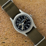 Pre-Owned Hamilton by Analog Shift Pre-Owned Hamilton Field Watch For LL Bean