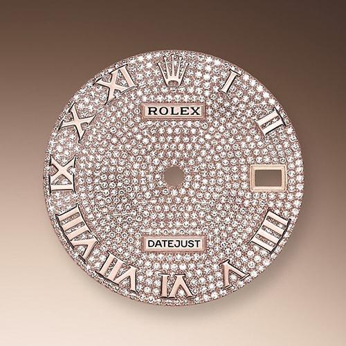 DIAMOND-PAVED DIAL