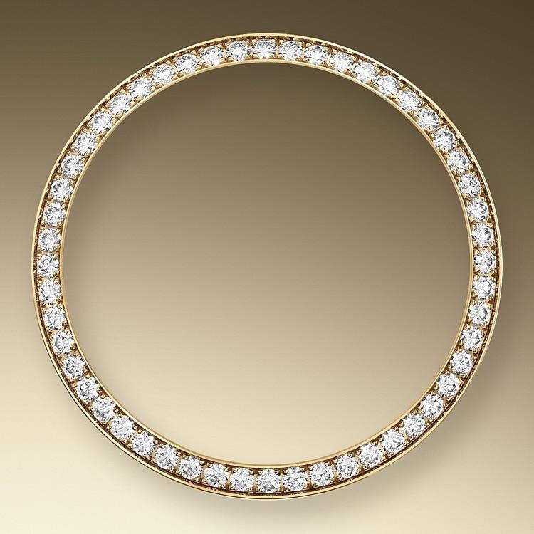DIAMOND SET BEZEL