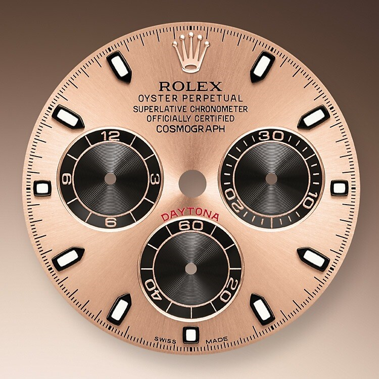PINK AND BLACK DIAL