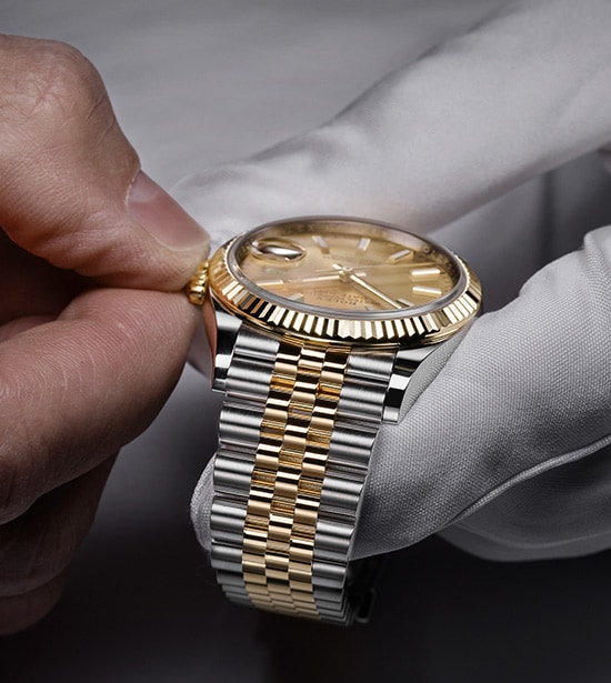 Servicing Your Rolex Page