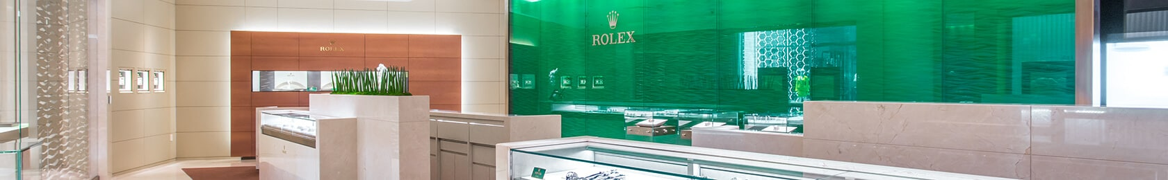 Rolex In-Store Banner