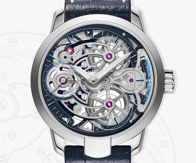 Skeleton Pure Stainless Steel