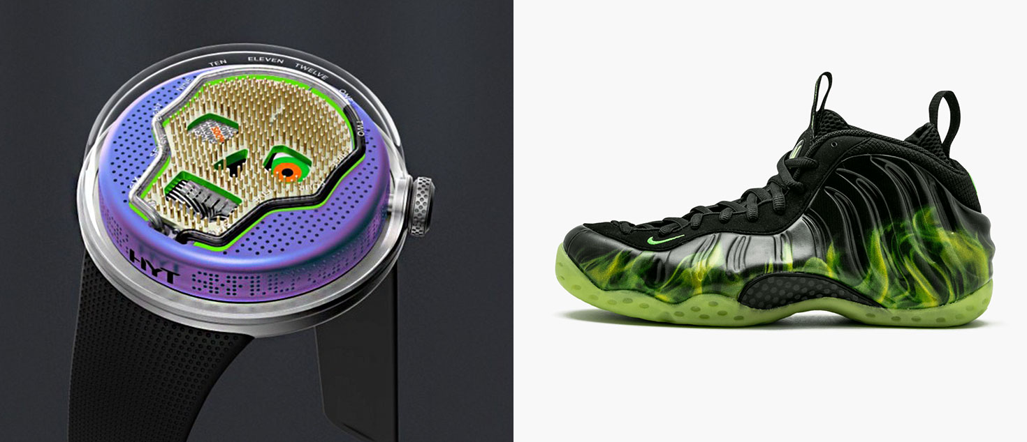 HYT SOONOW paired with Nike Air FoamPosite One ParaNorman